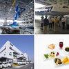 休日にANA機体工場見学に行けるって!有料だけど。機内食工場のバージョンもあるって!