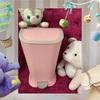 新しいキッチンのお友達♪ピンクの生ゴミ用ゴミ箱♪