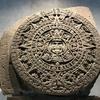メキシコ 国立人類博物館(1/2)、チャプルテペック公園、セキュリティチェック、「トルテカ室」3kgのボール、「アステカ室」3.6mの「太陽の暦」