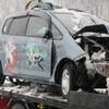 公用車全損事故