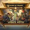 [SMITE最新情報]Talons of Tyranny 8.3 アップデートについて