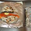 衛宮さんちの今日のごはんレシピで実際に作ってみた@鮭ときのこのバターホイル焼き