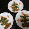 唐揚げ、ポテトサラダツリー、スープ、かぼちゃあんパン