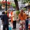 健康とダイエットのための朝ウォーキング!!バンコクの朝を歩く。