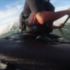 シーカヤックサーフィンで…意気消沈…