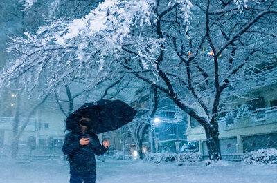 【都心でも積雪】雪降る夜の公園で撮ってきました。