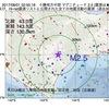 2017年08月01日 02時50分 十勝地方中部でM2.5の地震