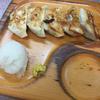 ラーメンコントで担々麺と餃子(浅草)