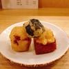 殿堂入りのお皿たち その121【サエキ飯店 の 海老トーストと大根もち】