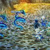 【レトロゲームファイナルファンタジー4プレイ日記その20】雷竜を倒してあおのしっぽを集めます!一番手こずりそうです(^-^;