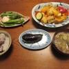 厚揚げと野菜のカレー炒め