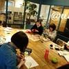 レッスンレポート)4/15本川町教室 夏に向けてカゴバックが人気になりそうな予感