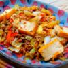 厚揚げと豚ひき肉のピリ辛炒めの作り方/レシピ