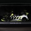 アウディ公式ミニカー Audi Collection(アウディコレクション)Audi R8 LMS GT2, black/yellow, 1:43