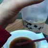 日本を出て8時間、台北でとりあえずタピオカ吸ってる。