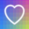 美しい色合いのグラデーションに癒されるパズルアプリ、I Love Hue(アイラブヒュー)