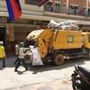 プノンペン・家庭ゴミの収集について。