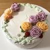 お花のショートケーキ