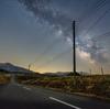 鶴岡市にある月山高原牧場で天の川を撮ってきた
