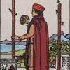 タロットカード:小アルカナ ワンドの2