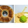 ウールロールパンと毛糸だま型パン