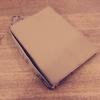 【無印良品】ジーンズのラベル素材のブックカバーを持ちを着けてカスタマイズしたが1冊読んだらボロボロに