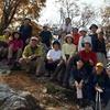 3000回記念例会Aコース 与助谷山~駒ケ岳 分水嶺の山々