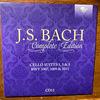 バッハ全集 全部聞いたらバッハ通 CD11 BWV1007,1009,1011 無伴奏チェロ組曲