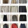 少なくなった洋服の管理方法は写真の撮り方を統一して一覧に