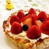 パイシート活用!いちごのクリームチーズタルト のレシピ
