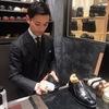 靴磨き選手権2019チャンピオン『寺島直希』氏の靴磨きを体験<シューシャインキャラバンvol.4>