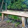 新しいベンチ