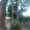 中島町荒木宮の狛犬