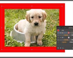 イラストレーターで配置画像に枠線をつける2つの方法
