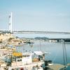 橋の見える町。