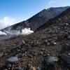 旭岳を登る