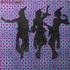 「イスラム文様とモザイクのぬり絵ブック」を「TOKYO GIRL」シルエットで塗ってみた