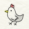 illustrator(+メディバンペイント)で絵手紙風のイラストを描くチュートリアル