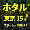 2021年【東京】ホタル観賞おすすめスポット15選 イベント開催状況から穴場まで