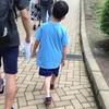 珍しいこともあるもんだ。息子が普通のTシャツ着てる