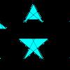 直線の配置の数え上げ(1)―6本の直線が作る43通りの形