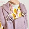 【tsupiccoroのきもの屋さん】Creemaにたんぽぽ色のベビー着物を出品しました。
