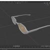 Blender 2.8でモデリングする その11(フレーム部分の着色)