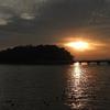 夕暮れの竹島海岸 2016 12月