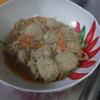 幸運な病のレシピ( 1720 )朝:鮭、塩サバ、マダラ子の煮つけ、味噌汁、マユのご飯