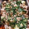 鶏肉と蓮根、ズッキーニのピリ辛煮