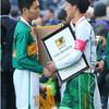 静岡サッカー100周年に花 高校選手権アベックV