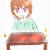 ぴかぴかな机