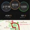 熱波の30km走!!