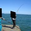 【強風、遠距離下の鮭釣り回顧】2017/3.27(月)鮭釣り回顧・・・こんな釣り方も!【今日の紋別】